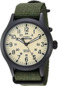 2. Timex Men's 40 Expedition Scout Watch…