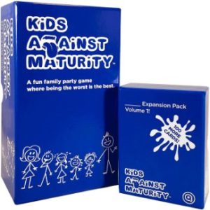 3. Kids Against Maturity Kids and Family Card Game