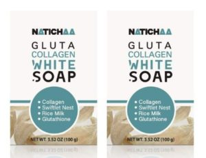 #3. NATICHAA Glutathione White Soap