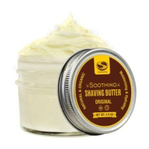 4. Natural Shaving Butter with Soothing Aloe Juice