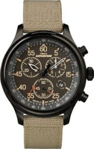 5. Timex Expedition Men's Field Strap Chronograph Watch…
