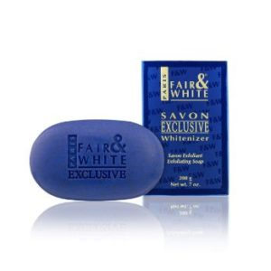 #6. FAIR and WHITE Exclusive Whitenizer Exfoliating soap