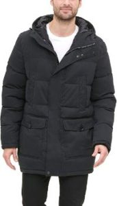 #8 Dockers Men's Long Hooded Microtwill Parka…