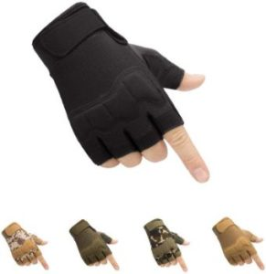 #8. HYCOPROT Fingerless Tactical Gloves
