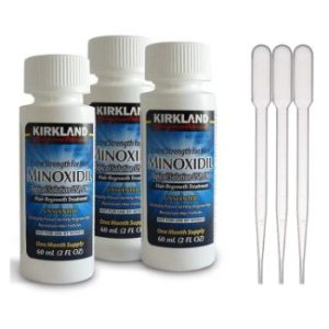 8. Minoxidil-5% Extra Strength 3-Count Hair Regrowth