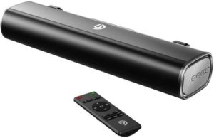 8. Wohome 80-Watt TV Sound Bar, Subwoofer