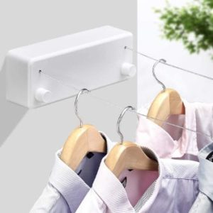 #9. BESy Retractable Clothesline