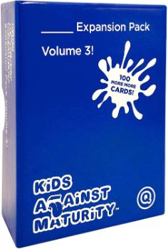 9. Kids against Maturity Card Game for Families and Kids