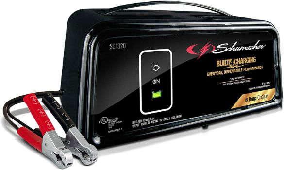 9. Schumacher SC1320 Automatic Battery Charger