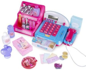 #9. UNIH Cash Register Toy with Electronic Sounds