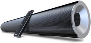 9. Wohome 38-inch TV Sound Bar, 80W