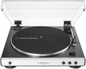 1. Audio-Technica AT-LP60XBT-WH Turntable