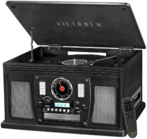 10. Victrola 8-in-1 Bluetooth Record Player