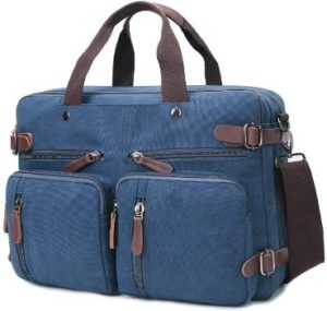 2. Convertible Laptop Backpack