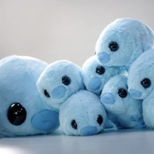 #3. Hashtag Collectibles Stuffed Water Bear plush