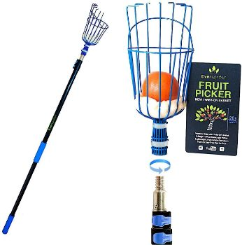 #9. EVERSPROUT 19-Foot Fruit Picker