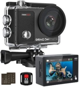 1. Dragon Touch 4K Action Camera