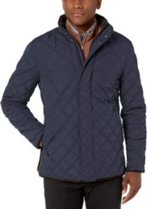 2. Buttoned Down Men's Quilted Car Coat