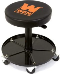 3. WEN 73012 Pneumatic Rolling Mechanic Stool Seat