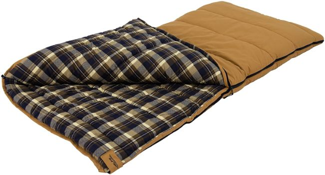4. ALPS OutdoorZ Redwood -25 Degree Flannel Sleeping Bag