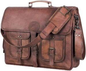 4. KPL 18-inch Leather Briefcase