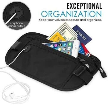 4. MoKo Secure Travel Money Belt