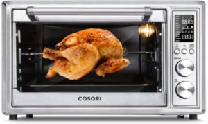 5. COSORI CO130-AO 12-in-1 Air Fryer Toaster Oven Combo