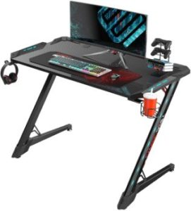 5. EUREKA ERGONOMIC Z1S PRO Gaming Computer Desk