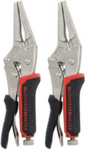 5. Monster & Master 6 Long-nose Locking Plier Set