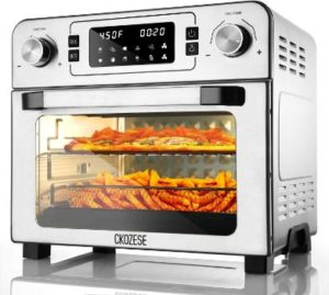 7. CKOZESE 1700W 10-in-1 Toaster Oven