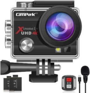 7. Campark 4K 20MP Action Camera