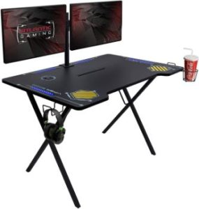 8. Atlantic Gaming Desk with LED Illumination, PN33906164