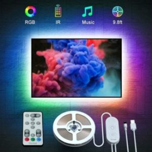 8. Govee TV Backlight 9.8ft RGB Strip Light