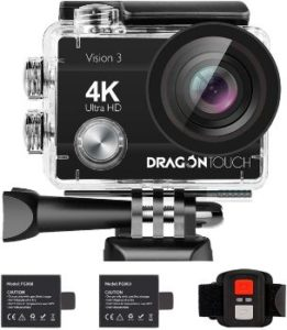 9. Dragon Touch 4K Action Camera