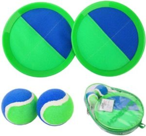 9. EVERICH TOY Paddle Toss and Catch Ball Set
