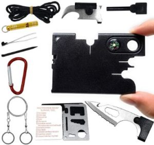 9. SYLC 18 In 1 Credit Card Wallet Multi-Tool