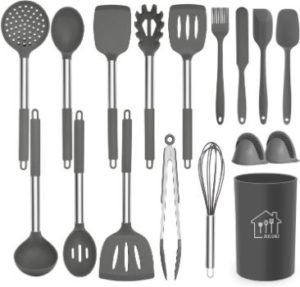 #10. Ailuki Cooking Utensil Set
