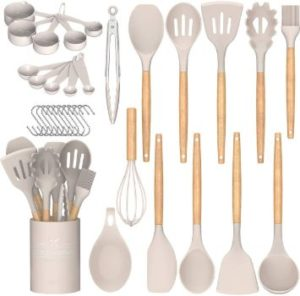 #2. Umite Chef Kitchen Cooking Utensils Set,