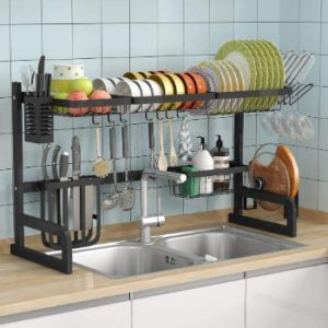#8. 1Easylife Over Sink Drying Rack