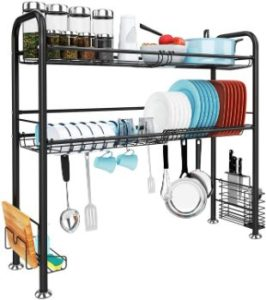 #9. JZBRAIN Over Sink Drying Rack