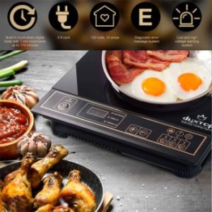 1. Duxtop 1800W Portable Induction Cooktop, Gold 8100MC BT-180G3