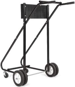 10. ARLIME Outboard Boat Motor Stand – Black
