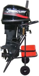 2. 30 HP Outboard Motor Cart Engine Stand with Folding Handle