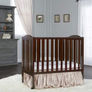 2. Dream On Me 2 in 1 Stationary Side Crib