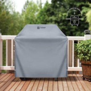 2. ZOBER All-Weather BBQ Grill Cover