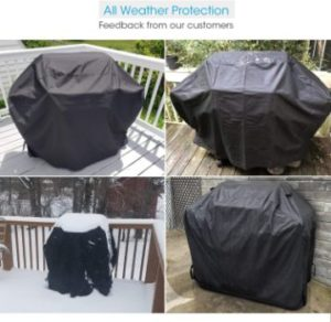 4. Unicook 55-inch Heavy Duty BBQ Cover