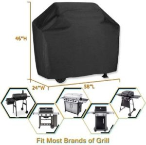 5. VIBOOS 58 inch BBQ Gas Grill Cover