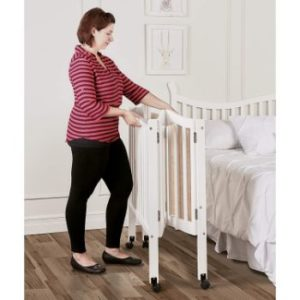 6. Dream On Me 2-in-1 Side Crib