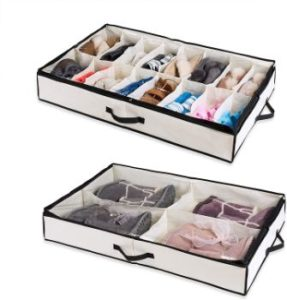 #6. Woffit under the Bed Shoe Organizer