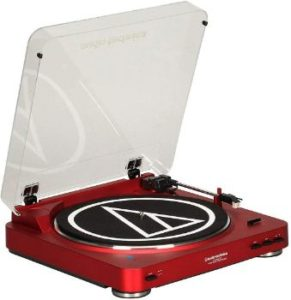 #7. Audio-Technica AT-LP60NV-BT Turntable
